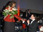 Gloria Gaynor und Chris de Burgh singing Lady in red